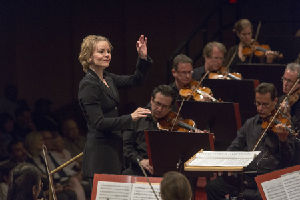 Susanna Mlkki, conductor